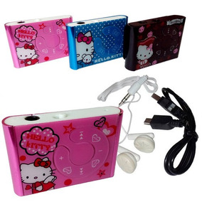 Hello Kitty Reproductor Música Mp3 Lector De Micro Sd