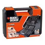Set De Accesorios 129pzas C/estuche Black Y Decker Bda7211