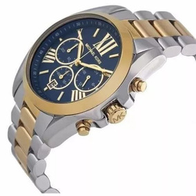 Relógio Bzf5254 Mk5976 Azul Misto Pronta Entrega. R  283 03. 12x R  23 sem  juros 9b91ba0b89