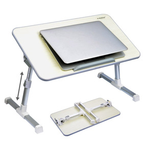 Avantree Quality Adjustable Laptop Table Bed Tray, Portable.