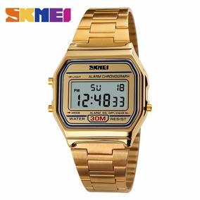Skmei 1123 Homens Esporte Digital Watch Chrono Calendário Á