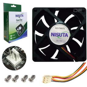 Cooler Fan Ventilador 8x8 80mm 3000rpm Gabinete Atx 3 Pines