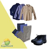 Conjunto De Trabajo Camisa+pantalon +botin Febo Microcentro