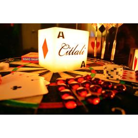 Recuerdos Tema Casino Xv Años 20 Piezas Aluzza