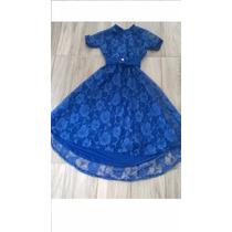 Vestido Mullet De Renda Varias Cores Ve Infat 140