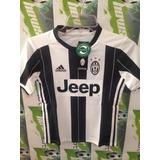 Jersey adidas Juventus Italia D Niño 100%original2017 Oferta