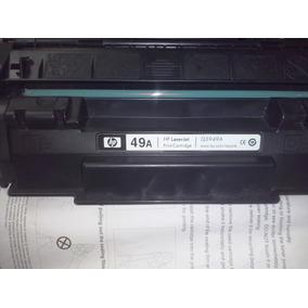 Toner Hp 49a Recargado Original Usado