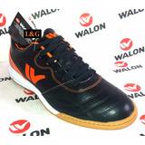 Zapatillas Walon Deportivas - Futsal Black4 Nuevas Talla 38
