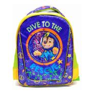 Mochila Escolar Atm Packs, Paw Patrol 1101-azul Con Verde