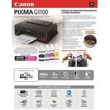 Impresora Canon G1100 Pixma Tanque De Tinta Original