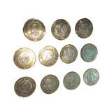Monedas De 20 Pesos, Colección Completa.