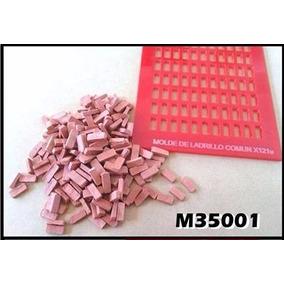 Lsg 1/35 M35001 Molde Para Ladrillos Comunes A Escala