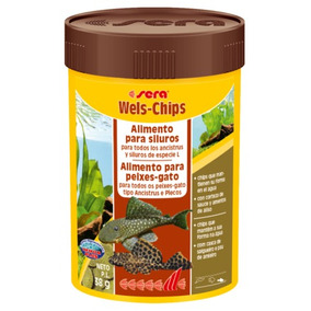 Sera Wels Chips 38g Ideal P Panaque , Gibbiceps E Ancistrus