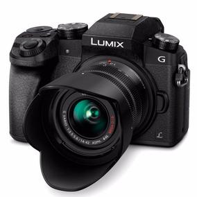 Câmera Panasonic Lumix Dmc-g7 4k 14-42mm Wifi Preto