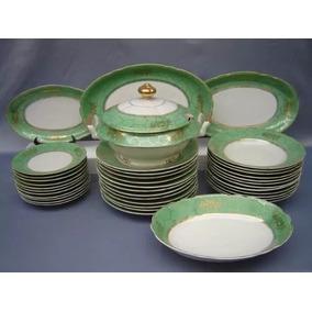 Aparelho De Jantar Em Porcelana Real Com 40 Peças