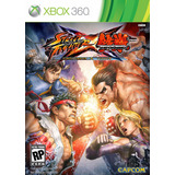 Street Fighter X Tekken Xbox 360 - Nuevo Y Sellado