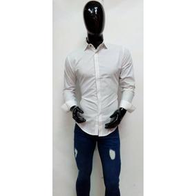 Linda Camisa Para Caballero Blanca