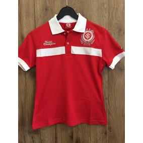 Camiseta Polo Internacional Comemorativa Original Feminina
