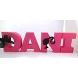 Letra 3d Barbie R$9,90 Cada