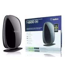 Roteador Belkin N600 Wifi 600mbps Dual Band 4 Antena Interna