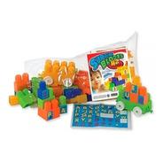 Bolso De Super Blocks 42pzas Duravit Con Stickers Nuevo A12