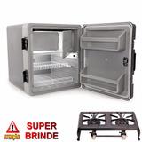 Geladeira Para Caminhão 12v 24v 67 Litros Resfriar + Brinde