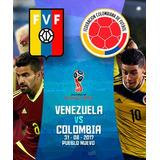 Entradas Para El Partido Colombia Vs Venezuela - Sc 31/08/17