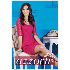 Vestido Rosado Elegante Y Casual Marca Azorti