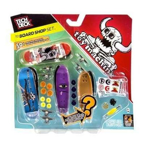 Skate De Dedo Tech Deck - Board Shop Set Multikids B2957