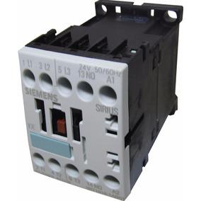 Mini Contactor 12a Bob 24v 5,5kw 7,5cv Siemens 3rt1017-1ab01