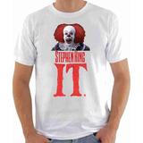 Camisa Camiseta Palhaço It - Filme Terror