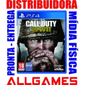 Call Of Duty Ww2 Ps4 World War 2 Wwii Midia Física Lacrado
