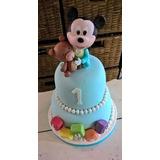 Torta Artesanal Mickey Bebe Zona Sur