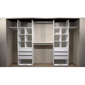 Interior De Placard Melamina Blanca 300x200 Inplac