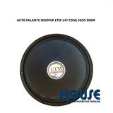 Auto Falante Woofer 15 Etm Eg-147, 800w ,caixa Instrumento