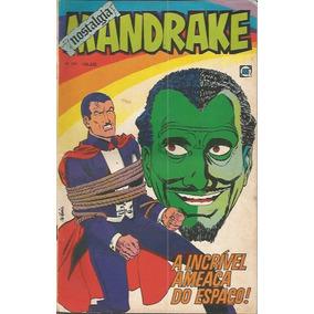 Mandrake Nostalgia Nº 223 Rge 1974 A Incrível Ameaça Do Esp
