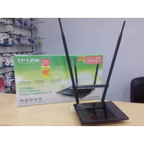Router Wifi Tp Link Tl Wr841hp Alta Poten. Rompe Muros 02468