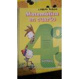 Matematica En Cuarto 4 - Santillana
