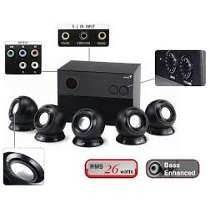 Parlantes Genius Surround 5.1 26w Pc Modelo Sw-5.1 1005