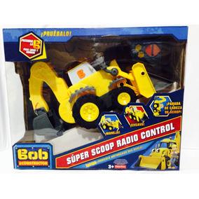 Bob El Constructor Super Scoop Radio Control Fch67