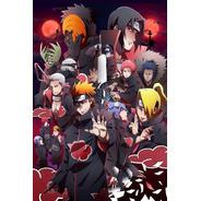 Placa Decorativa Naruto Modelo 25
