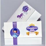 75 Sacolinha 75 Convite Personalizado Infantil Frete Gratis