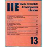 Revista Del Instituto De Investigaciones Educativas 1977