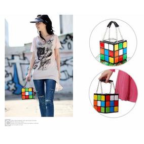 Cartera De Dama Cubo De Rubik Unica