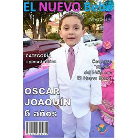 Traje Para Niño Color Blanco 3 Piezas Chaleco Pantalón Saco