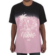 Camiseta Chronic  Tie Dye Milionarios De Vibe Preto Pink