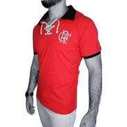 Camisa Polo Flamengo Retrô Cordinha