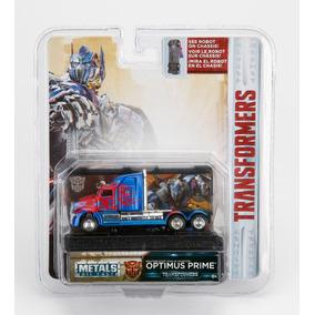 Transformers Optimus Jada Metal Escala 1:64