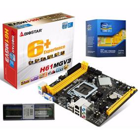 Kit I7 1155 3770k + Mb H61mgv3 V8.0 + Memoria 4 Gb 1333