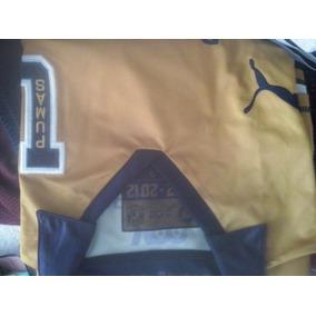 Playera Tipo Jersey Pumas Color Oro 50 Años